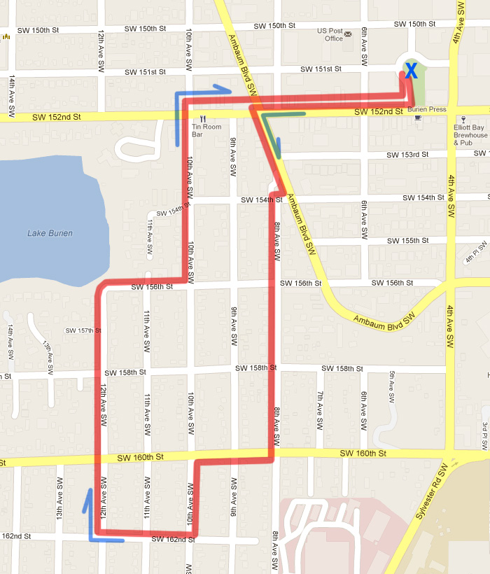 WNT-Gregory-Heights-Short-Route