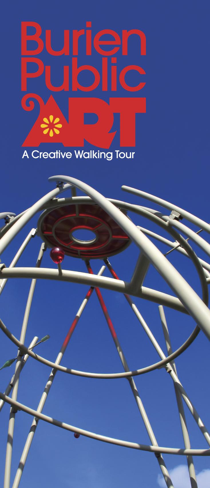 BURART-Public Art Brochure Cover Image