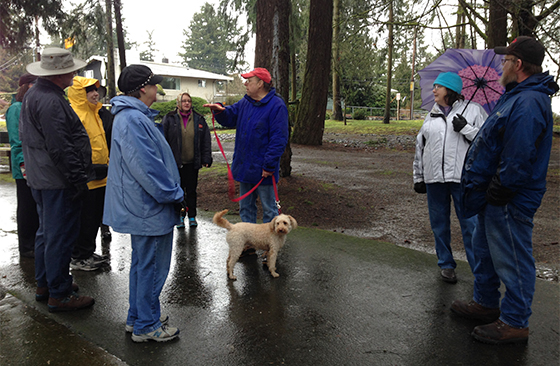 Weekday Walkers will walk to Mathison Park this Wednesday, Aug. 18 1