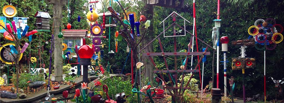 Garden Walk Garden Talk: Hidden Gem Folk Art Sculpture Garden Highlighted On