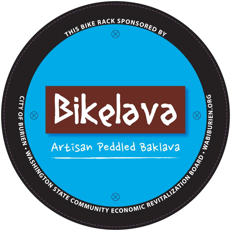 WABI Burien's Downtown Burien Bike Rack project wraps up 4