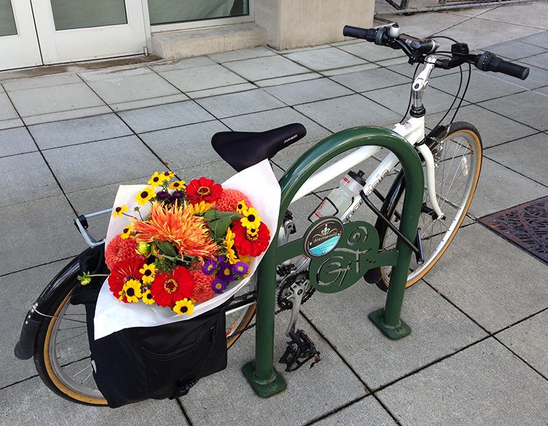 WABI Burien's Downtown Burien Bike Rack project wraps up 9