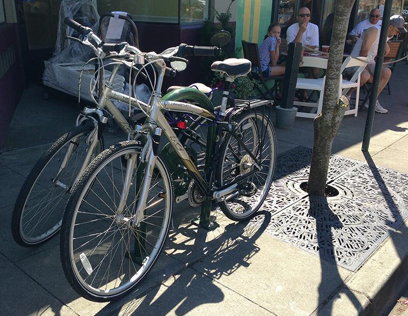 Downtown Burien Bike Rack Project Wrap Up Wabi Burien