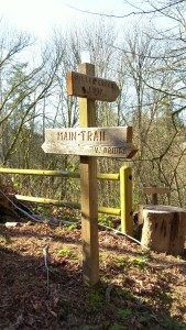 Walker Preserve signpost