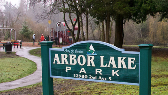 WABI-WNT Arbor Lake Sign