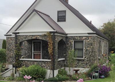Hamel Stone house at 11650 Roseberg Ave. S. Built in 1945